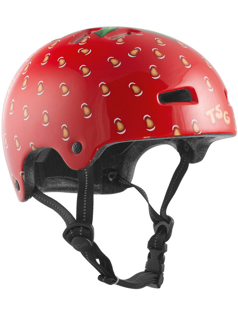 TSG Nipper Mini Graphic Design Helmet strawberry
